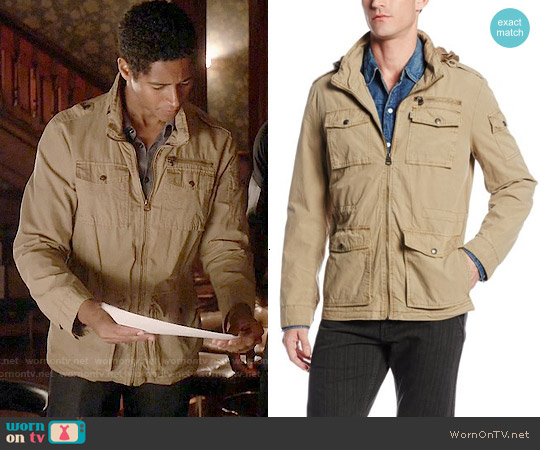Levis 4 Pocket Cotton  Field Jacket worn by Alfred Enoch on HTGAWM