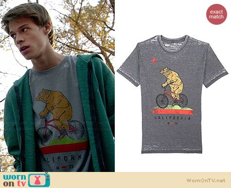 Levi's Bike Ride Burnout Tee worn by Colin Ford on Under the Dome