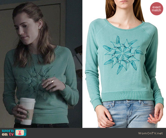 Levis Hummingbird Sweatshirt worn by Allison Williams on Girls