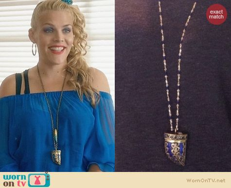LFR Designs Nepalize Necklace worn by Busy Phillips on Cougar Town