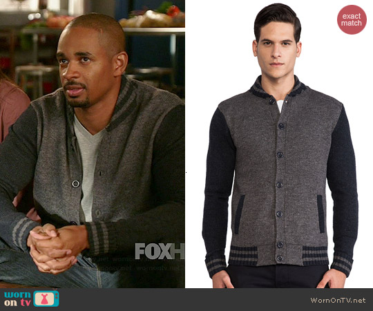 Life After Denim Alumni Cardigan worn by Damon Wayans Jr on New Girl