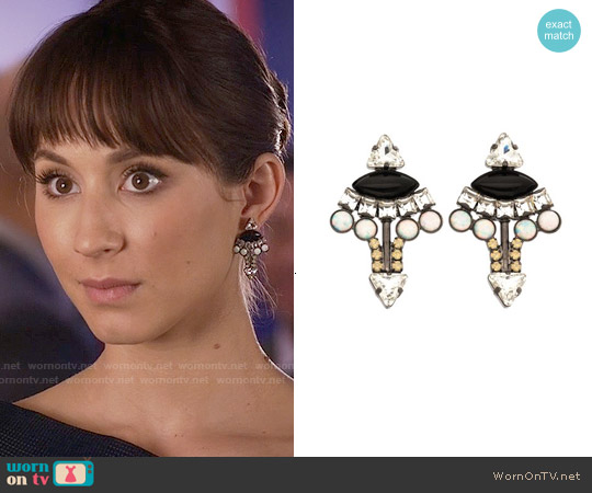 Lionette Mali Earrings worn by Spencer Hastings on PLL
