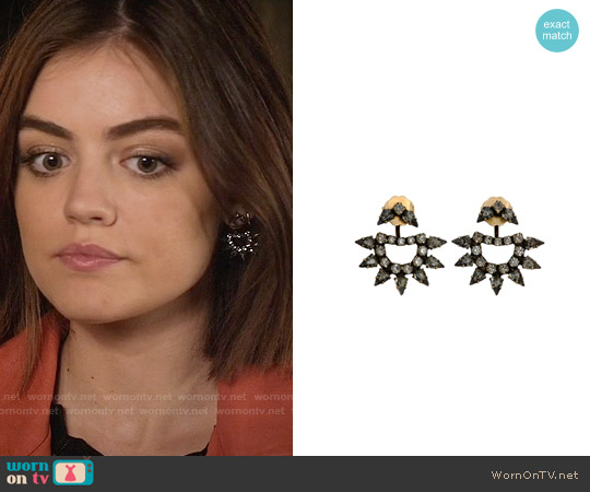 Lionette NY Yonti Ear Jackets worn by Lucy Hale on PLL