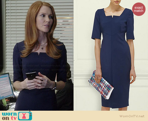 LK Bennett Lander Dress worn by Darby Stanchfield on Scandal