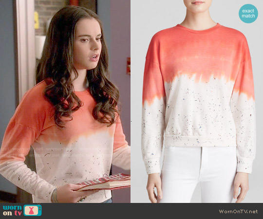 LNA Napali Sweatshirt worn by Vanessa Marano on Switched at Birth