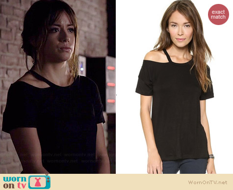 LNA Pia Tee worn by Chloe Bennet on Agents of SHIELD