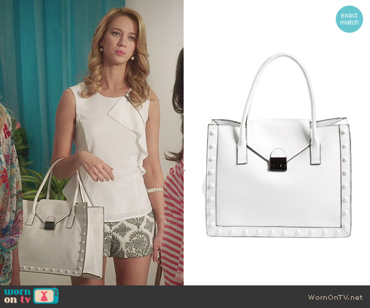 Loeffler Randall 'Work' Tote worn by Petra Solano on Jane the Virgin