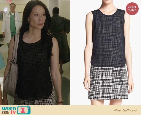 Lucy Liu Fashion: Rag & Bone Fleet Dress worn on Elementary