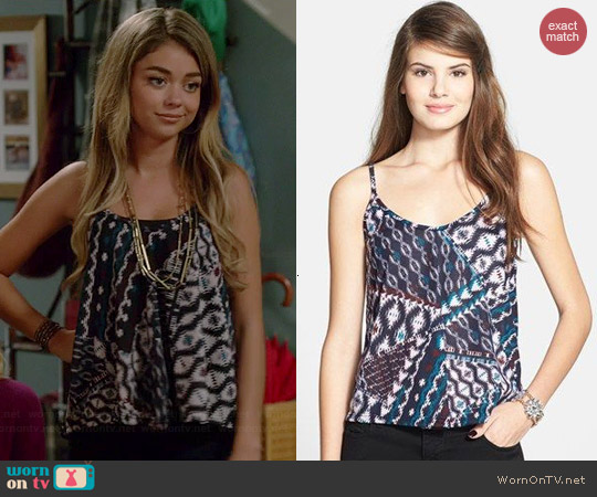 Lush A-Line Camisole worn by Sarah Hyland on Modern Family
