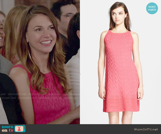 M Missoni Chevron Knit Dress worn by Sutton Foster on Younger