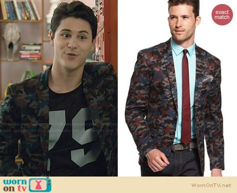 M151 Camo Jacket worn by Michael Willett on Faking It