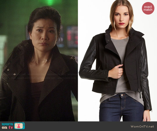 Mackage Andra Jacket worn by Jadyn Wong on Scorpion