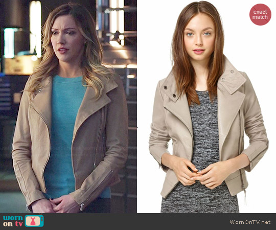 Mackage Kenya Jacket worn by Katie Cassidy on Arrow