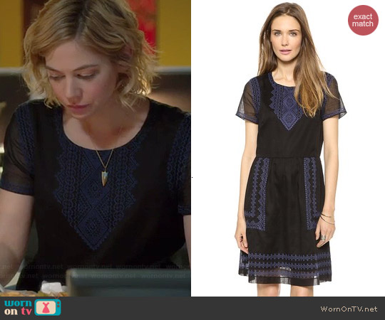 Madewell Augustine Dress worn by Analeigh Tipton on Manhattan Love Story