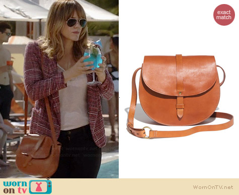 Madewell The Dylan Saddlebag worn by Katharine McPhee on Scorpion
