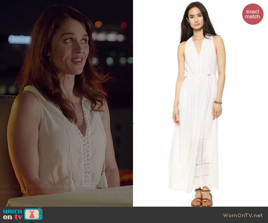 Madewell Piazza Maxi Dress worn by Robin Tunney on The Mentalist