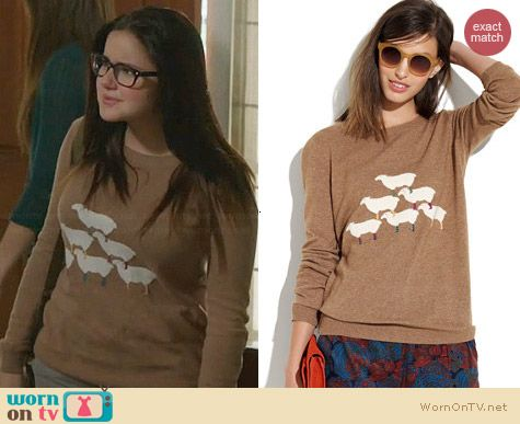 Madewell Sheep Meadow Sweater worn by Ariel Winter on Modern Family