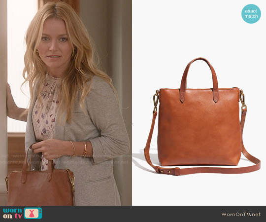 Madewell The Mini Transport Crossbody worn by Becki Newton on Weird Loners