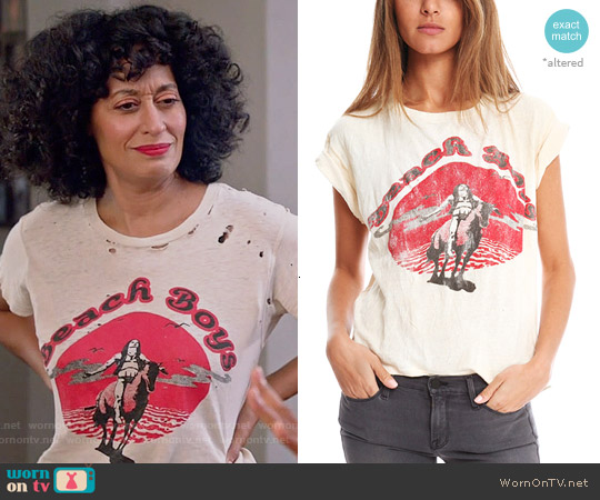 Madeworn Beach Boys Tee worn by Tracee Ellis Ross on Blackish