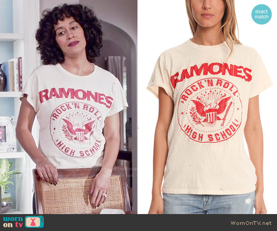 1fe64c65637 WornOnTV: Rainbow's Ramones t-shirt on Black-ish | Tracee Ellis Ross ...