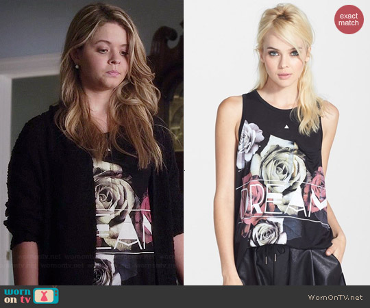 Madison & Berkeley Dream Pocket Tank worn by Sasha Pieterse on PLL