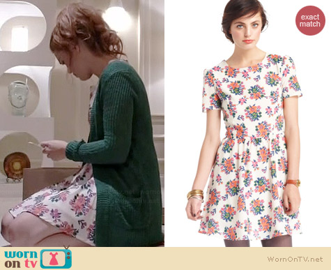 Maison Jules Floral Dress worn by Holland Roden on Teen Wolf