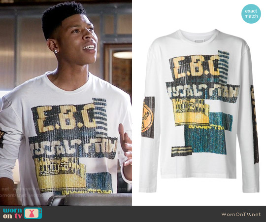 Maison Margiela Sequined T-shirt worn by Bryshere Y. Gray on Empire