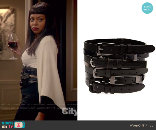 Maison Margiela Stacked Belt worn by Cookie Lyon on Empire