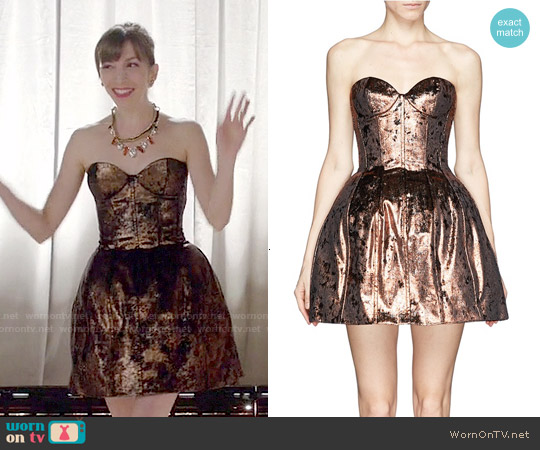 Maje Galega Dress worn by Molly Bernard on Younger