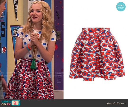 Maje Julie Skirt worn by Liv Rooney on Liv & Maddie