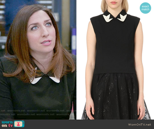 Maje Luis Top worn by Chelsea Peretti on Brooklyn Nine-Nine