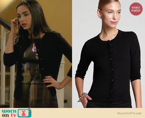Mandy Baxter Fashion: Kate Spade Sofia Cardigan worn on Last Man Standing