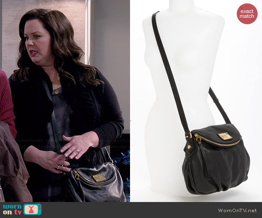 c451af3f4e69 WornOnTV  Molly s black crossbody bag on Mike and Molly