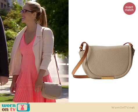 Marc by Marc Jacobs Softly Saddle X-Body Bag worn by Emily Bett Rickards on The Flash