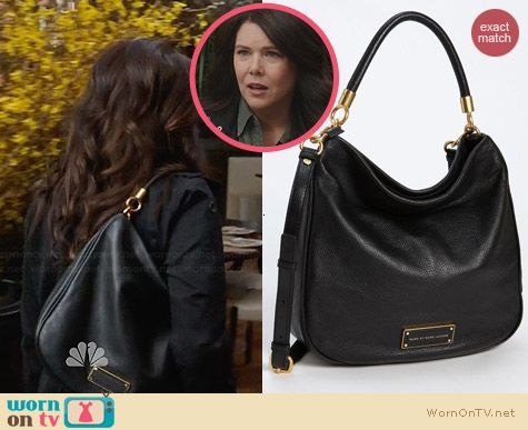 Marc by Marc Jacobs Too Hot To Handle Hobo worn by Lauren Graham on Parenthood
