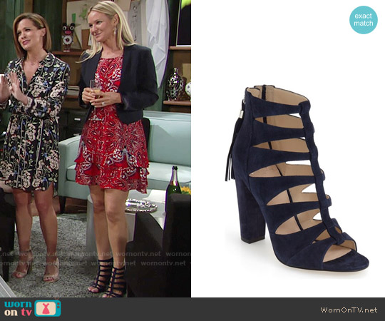 Marc Fisher LTD Hindera Sandal worn by Sharon Collins on The Young & the Restless