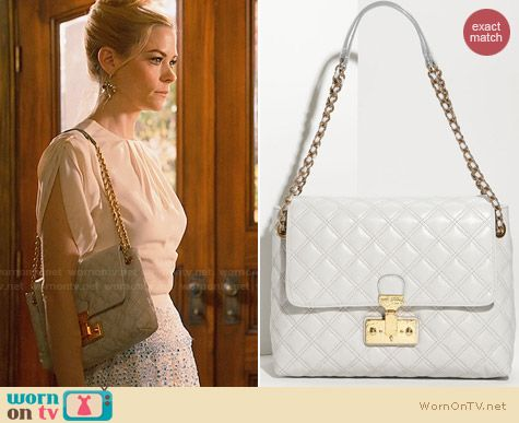 Marc Jacobs Baroque Single Leather Bag worn by Jaime King on Hart of Dixie