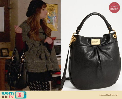 Marc by Marc Jacobs Classic Q Hillier Hobo worn by Lea Michele on Glee