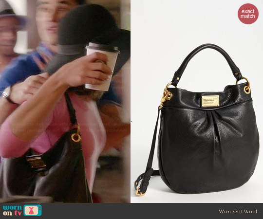 Marc by Marc Jacobs Classic Q Hillier Hobo worn by Rachel Berry on Glee