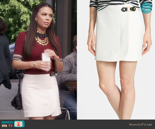 Marc by Marc Jacobs Eva Skirt worn by Mona Vanderwaal on PLL