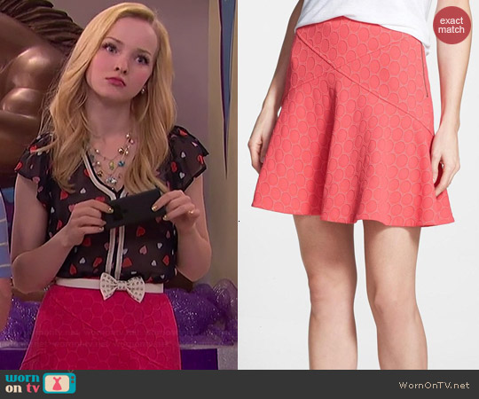 Marc by Marc Jacobs Leyna Skirt worn by Dove Cameron on Liv & Maddie
