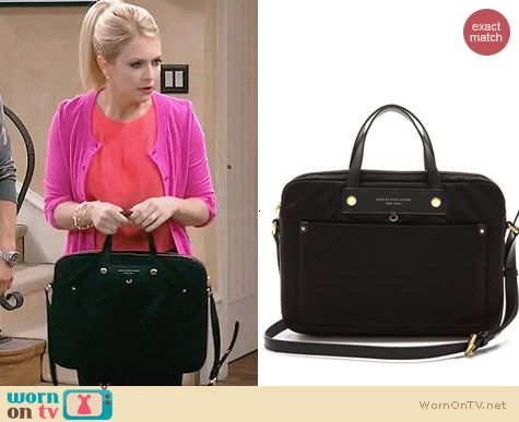 Marc by Marc Jacobs Preppy Commuter Computer Bag worn by Melissa Joan Hart on Melissa & Joey
