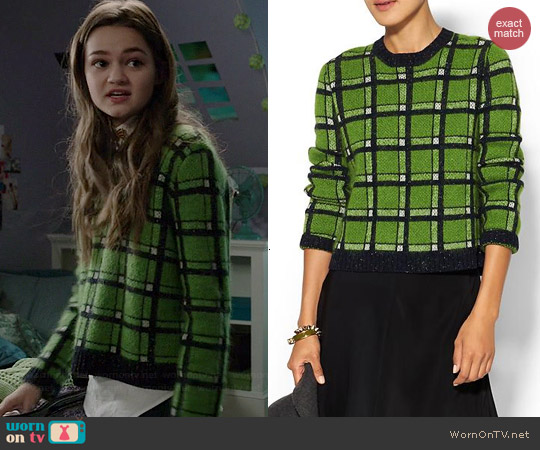Marc by Marc Jacobs Prudence Sweater worn by Ciara Bravo on Red Band Society