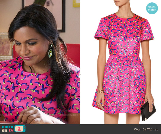 Markus Lupfer Frankie Dress worn by Mindy Kaling on The Mindy Project