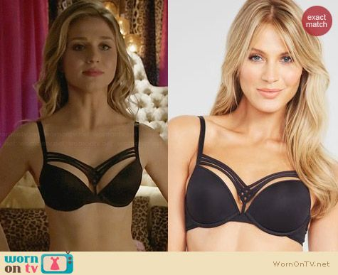 Marlies Dekkers Dame de Paris Bra worn by Rita Volk on Faking It