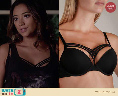 Marlies Dekkers Dame de Paris Push Up Bra worn by Shay Mitchell on PLL