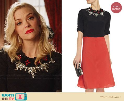 Marni Embellished Chiffon Dress worn by Jaime King on Hart of Dixie
