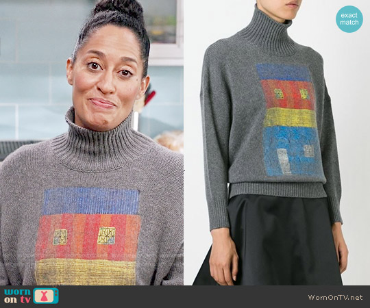 Marni Printed Sweater worn by ABC on Uncategorized