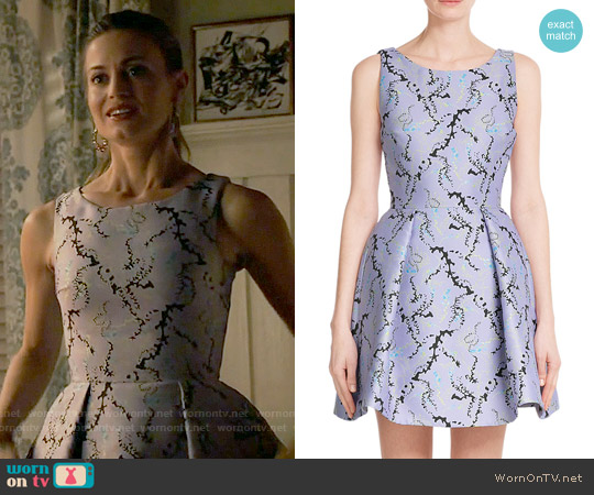 Mary Katrantzou 'Copelia' Jacquard Dress worn by Brooke D'Orsay on Royal Pains