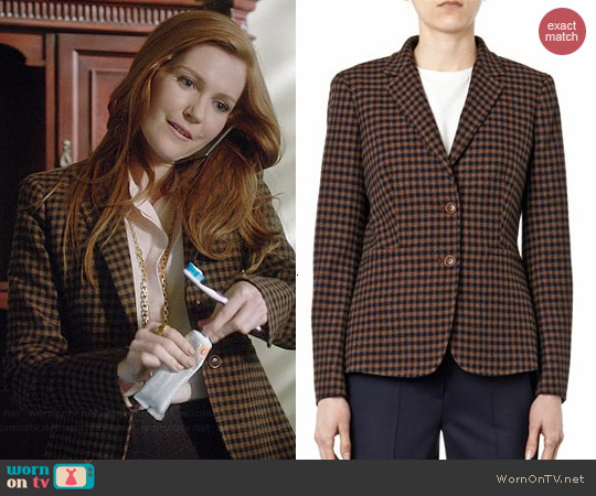 Max Mara Gin Blazer worn by Darby Stanchfield on Scandal